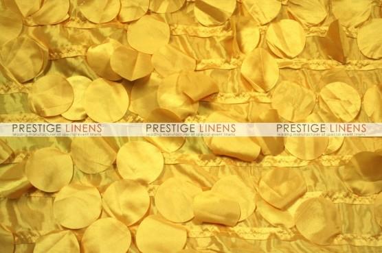 Petal Taffeta Table Linen - Yellow