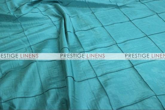 Pintuck Taffeta Table Linen - Aqua