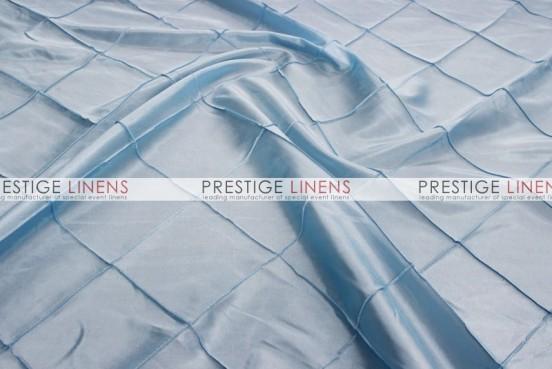 Pintuck Taffeta Table Linen - Baby Blue