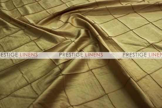 Pintuck Taffeta Table Linen - Camel