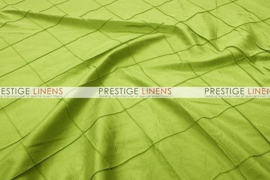 Pintuck Taffeta Table Linen - Lime