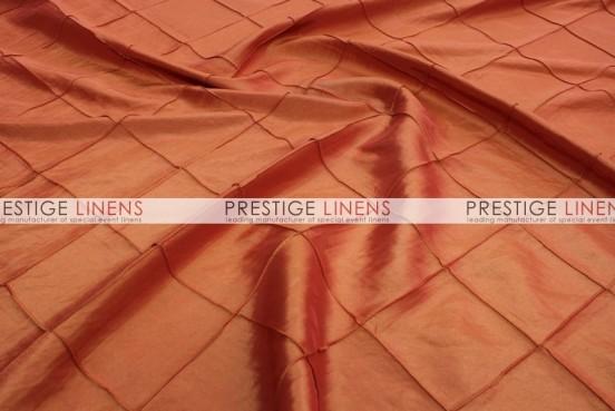 Pintuck Taffeta Table Linen - Orange