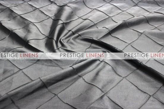 Pintuck Taffeta Table Linen - Platinum