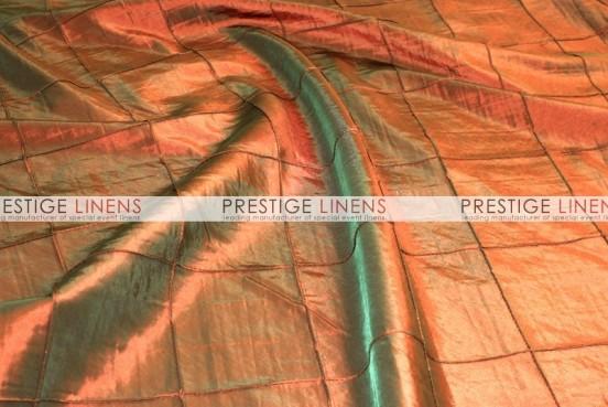 Pintuck Taffeta Table Linen - Rust