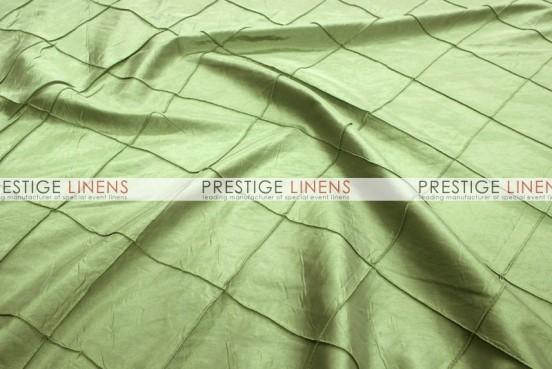 Pintuck Taffeta Table Linen - Sage