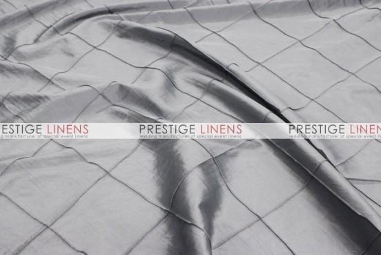 Pintuck Taffeta Table Linen - Silver