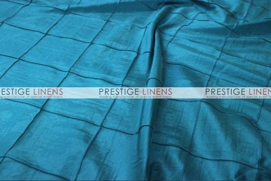 Pintuck Taffeta Table Linen - Teal