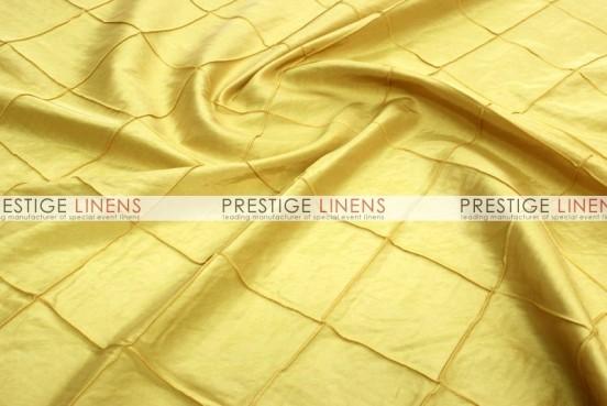 Pintuck Taffeta Table Linen - Yellow