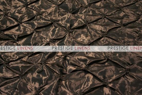 Pinwheel Taffeta Table Linen - Brown