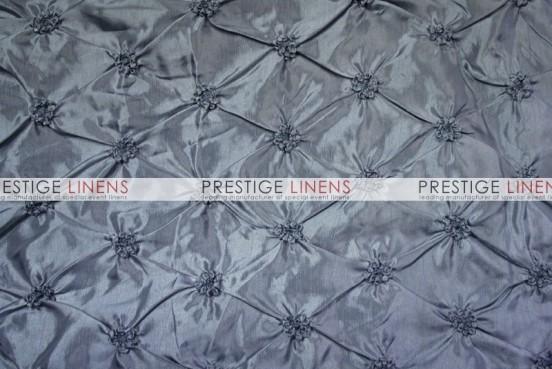 Pinwheel Taffeta Table Linen - Platinum