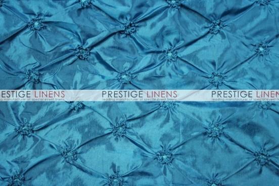 Pinwheel Taffeta Table Linen - Teal