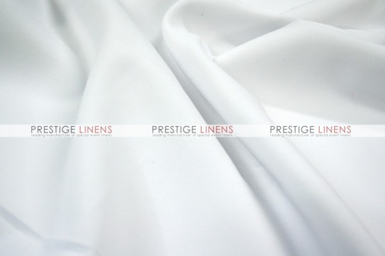 Polyester (Double Width) Table Linen - 126 White