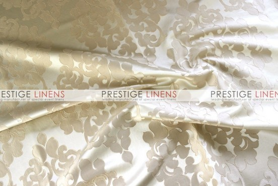 Regal Jacquard Table Linen - Beige