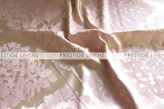 Regal Jacquard Table Linen - Blush