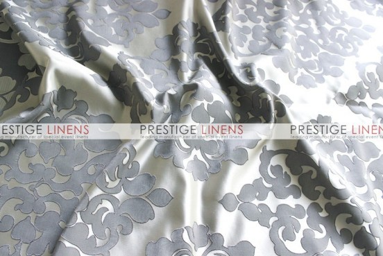 Regal Jacquard Table Linen - Silver