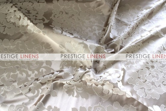 Regal Jacquard Table Linen - Taupe