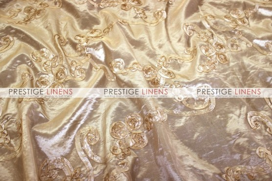 Ribbon Taffeta Table Linen - Champagne