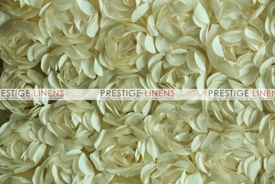 Rose Bordeaux Table Linen - Dk Ivory