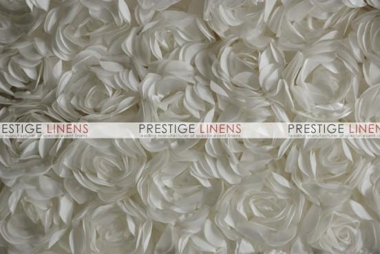 Rose Bordeaux Table Linen - Ivory
