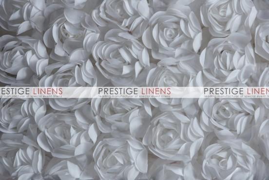 Rose Bordeaux Table Linen - White