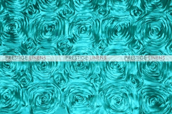Rosette Satin Table Linen - Jade