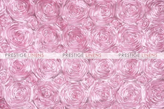 Rosette Satin Table Linen - Pink