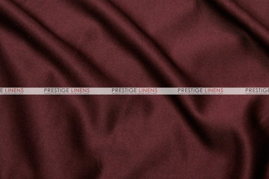 Scuba Stretch Table Linen - Burgundy
