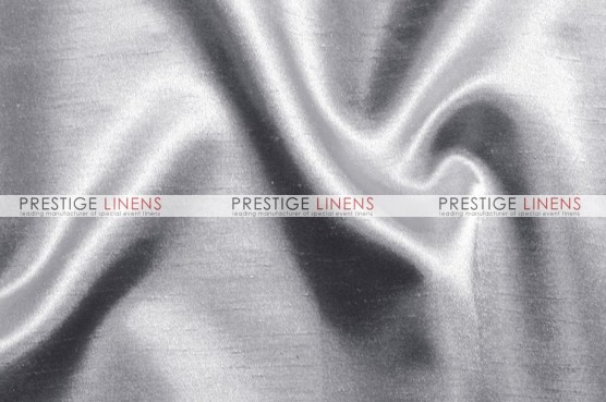 Shantung Satin Table Linen - 1126 Silver
