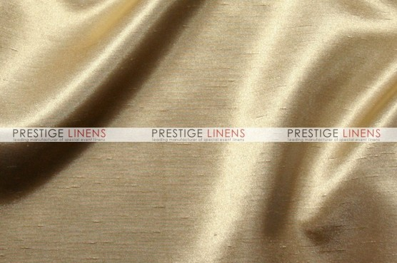 Shantung Satin Table Linen - 130 Champagne