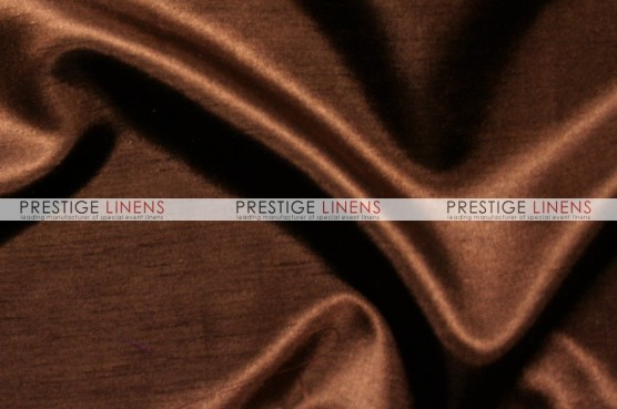 Shantung Satin Table Linen - 333 Brown