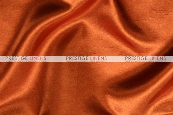 Shantung Satin Table Linen - 337 Rust
