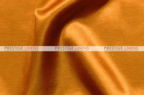 Shantung Satin Table Linen - 431 Orange