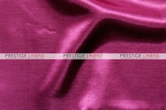 Shantung Satin Table Linen - 528 Hot Pink