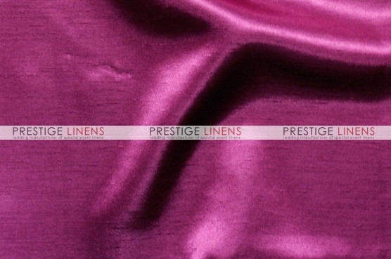 Shantung Satin Table Linen - 529 Fuchsia