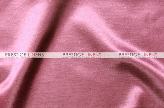 Shantung Satin Table Linen - 531 Dk Rose