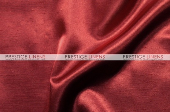 Shantung Satin Table Linen - 627 Cranberry