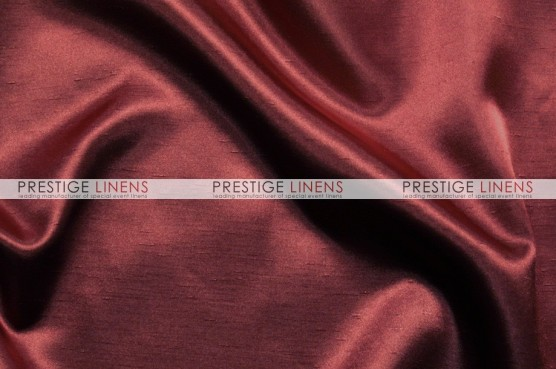 Shantung Satin Table Linen - 628 Burgundy