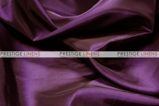 Solid Taffeta Table Linen - 1044 Eggplant