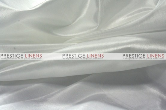 Solid Taffeta Table Linen - 126 White