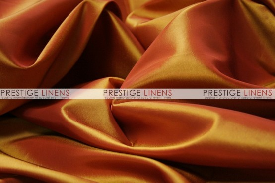 Solid Taffeta Table Linen - 230 Fire Orange