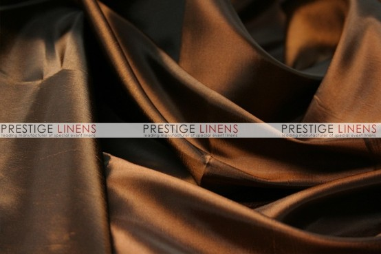 Solid Taffeta Table Linen - 333 Brown