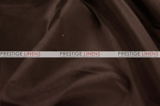 Solid Taffeta Table Linen - 335 Dk Brown