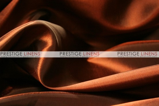 Solid Taffeta Table Linen - 337 Rust