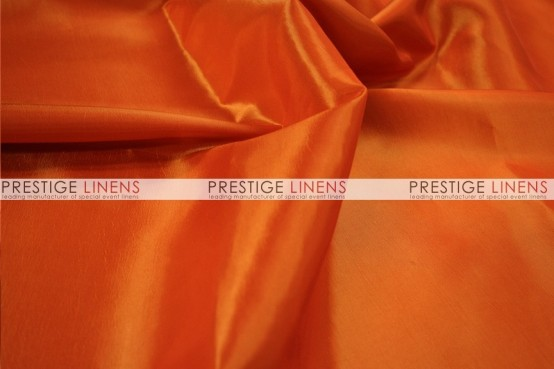 Solid Taffeta Table Linen - 447 Dk Orange