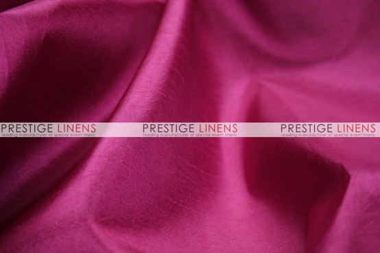 Solid Taffeta Table Linen - 529 Fuchsia