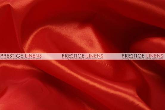 Solid Taffeta Table Linen - 626 Red