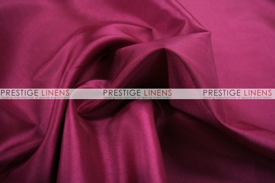 Solid Taffeta Table Linen - 645 Raspberry