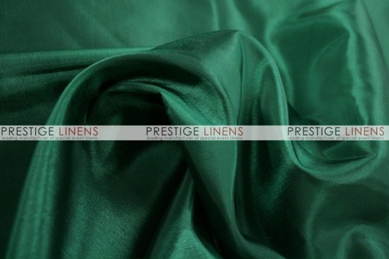 Solid Taffeta Table Linen - 733 Emerald