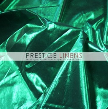 Tissue Lame Table Linen - Emerald