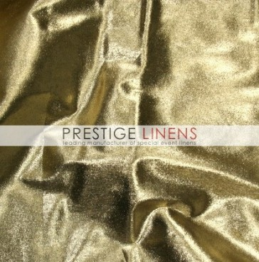 Tissue Lame Table Linen - Gold